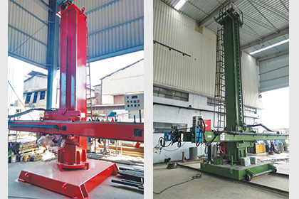 Column & Boom Manipulators